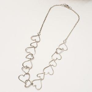 Unique Vintage Style Heart Necklace